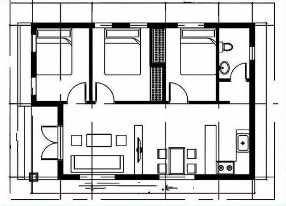 Sơ đồ thiết kế nhà đẹp mái thái